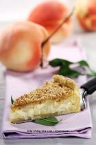 鲜奶油蜜桃派的做法