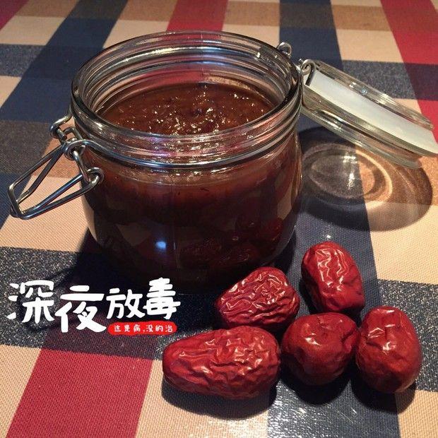 红枣酱的做法