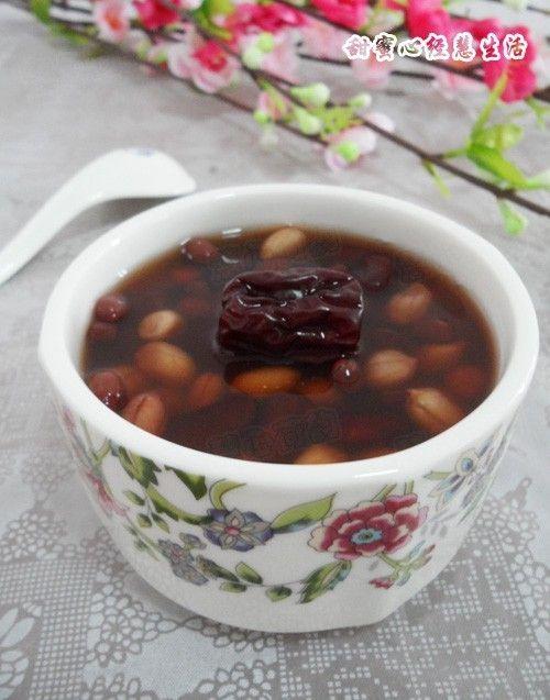 五红补血养颜汤的做法