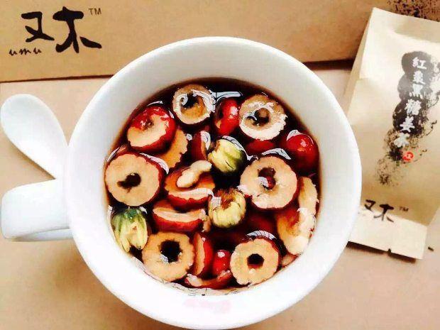 红枣黑糖姜茶的做法