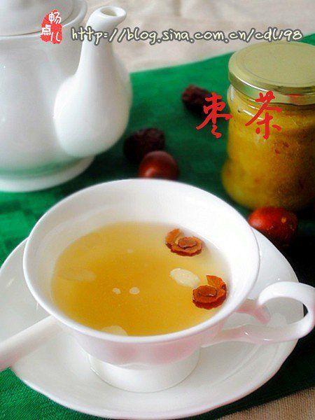 补血养颜枣茶的做法