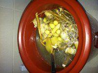 鸡汤米线的做法第3步图片步骤 www.027eat.com