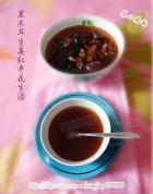 黑木耳生姜红枣花生汤的做法