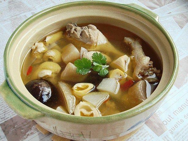 宴客煲汤 酸萝卜老鸭汤的做法图解,如何做,酸萝卜老鸭汤怎么做好吃详细步骤
