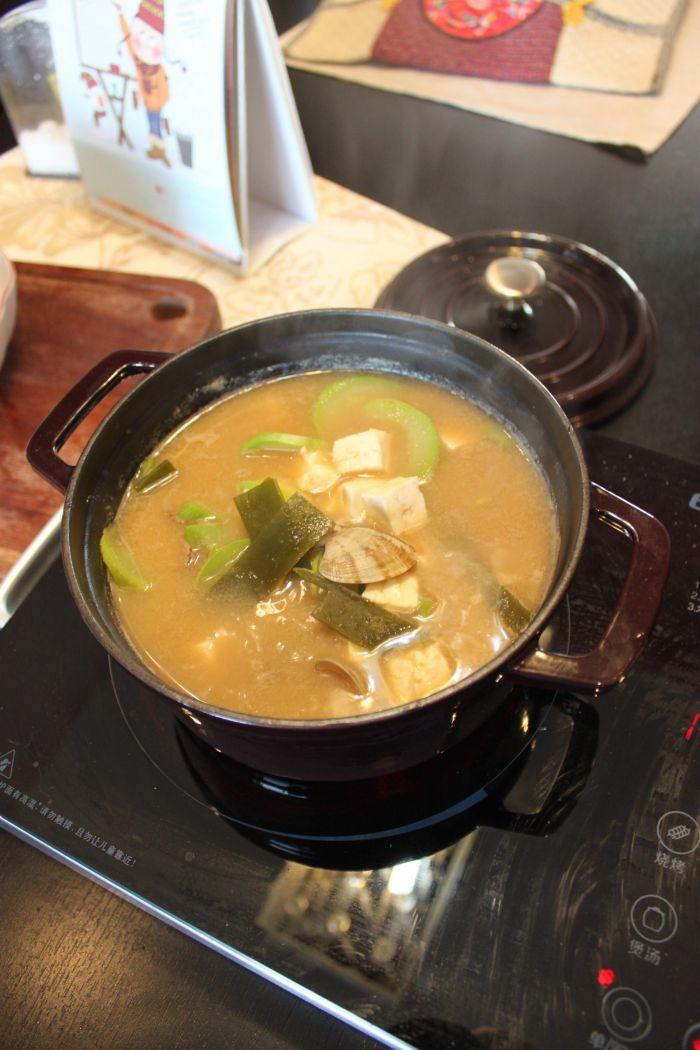 味增汤的做法第3步图片步骤 www.027eat.com