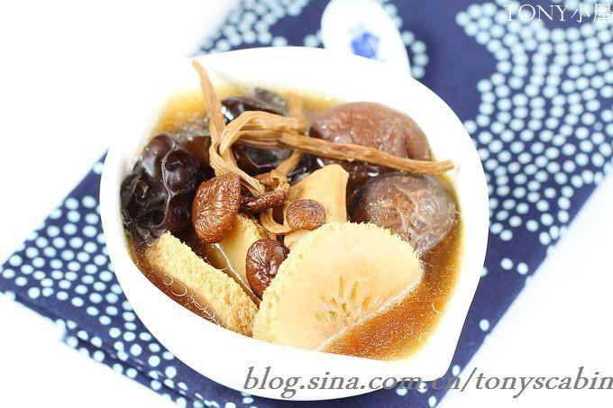 养生排骨菌汤的做法图解,如何做,养生排骨菌汤怎么做好吃详细步骤