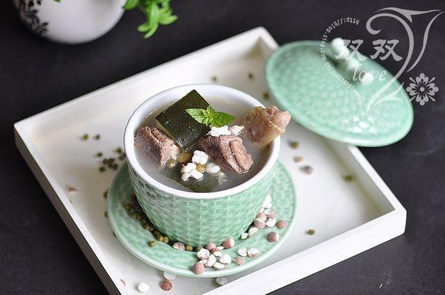 美食天下冬瓜绿豆老鸭汤的做法图解,如何做,冬瓜绿豆老鸭汤怎么做好吃详细步骤