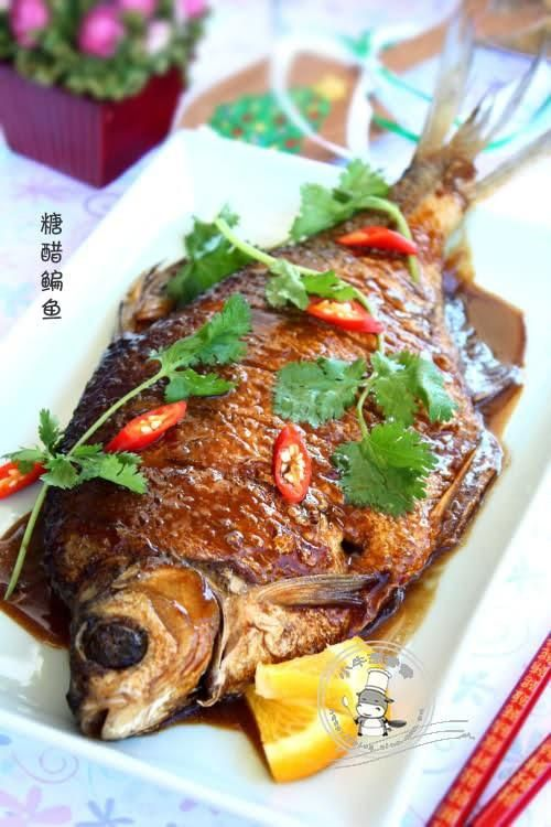 糖醋鳊鱼的做法图解,如何做,糖醋鳊鱼怎么做好吃详细步骤