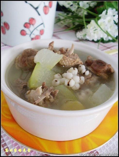 滋补家常菜 冬瓜薏米老鸭汤的做法图解,如何做,冬瓜薏米老鸭汤怎么做好吃详细步骤