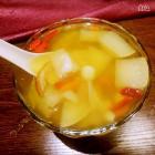 止咳润喉梨汤的做法