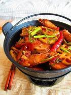 宴客下饭菜 干锅香辣虾的做法图解,如何做,干锅香辣虾怎么做好吃详细步骤