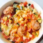 蔬菜肉圆焗饭的做法图解,如何做,蔬菜肉圆焗饭怎么做好吃详细步骤