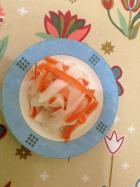 泡菜水腌萝卜皮的做法