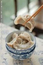韭菜鲜肉馅饺子的做法