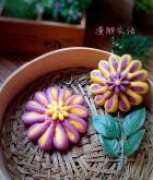 菊花馒头的做法