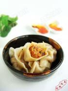 杏鲍菇大肉饺子的做法