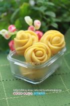黄玫瑰馒头的做法图解,如何做,黄玫瑰馒头怎么做好吃详细步骤