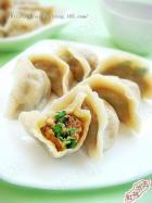 香菜猪肉饺子的做法