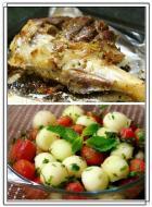 烤箱版烤羊腿的做法