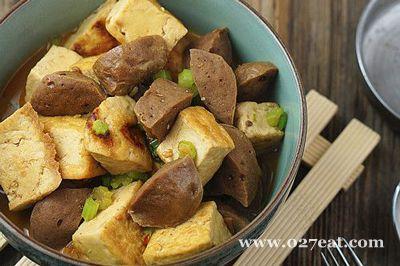 豆腐焖肉丸的做法步骤