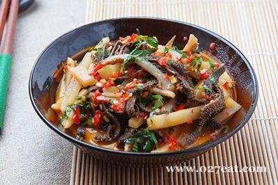 酸笋炒牛百叶的做法图片,如何做,酸笋炒牛百叶怎么做好吃详细步骤