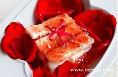 蜜汁玫瑰山药的做法图片,如何做,蜜汁玫瑰山药怎么做好吃详细步骤