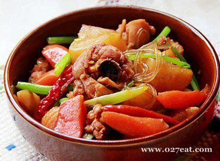韩式安东炖鸡的做法图片,如何做,韩式安东炖鸡怎么做好吃详细步骤