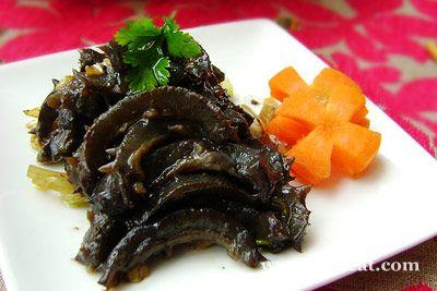 葱油海参的做法图片,如何做,葱油海参怎么做好吃详细步骤