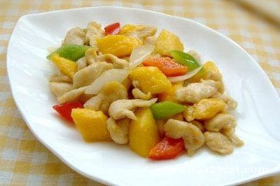 芒果鸡柳的做法图片,如何做,芒果鸡柳怎么做好吃详细步骤