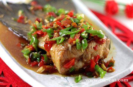 香茅剁椒三文鱼尾的做法图片,如何做,香茅剁椒三文鱼尾怎么做好吃详细步骤