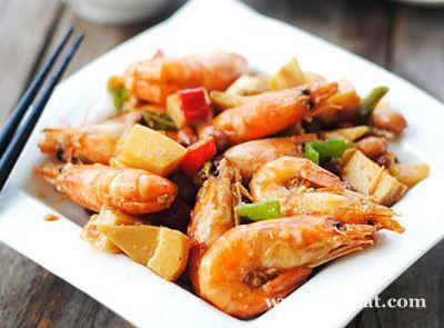 笋丁香辣虾的做法图片,如何做,笋丁香辣虾怎么做好吃详细步骤