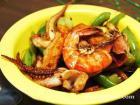 香辣鱿鱼虾的做法