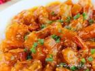 茄汁爆麻虾的做法
