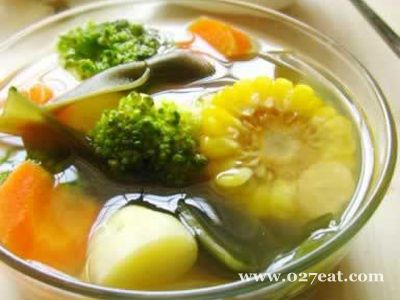 黄氏海带花椰汤的做法步骤