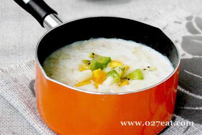 果味奶香麦片粥的做法图片,如何做,果味奶香麦片粥怎么做好吃详细步骤