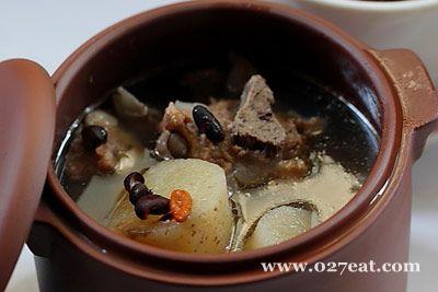 黑豆山药排骨汤的做法图片,如何做,黑豆山药排骨汤怎么做好吃详细步骤