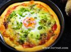 鸡蛋披萨&辫子面包的做法