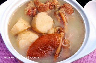 鱼腥草山药猪骨汤的做法图片,如何做,鱼腥草山药猪骨汤怎么做好吃详细步骤