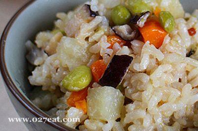杂菜糙米饭的做法图片,如何做,杂菜糙米饭怎么做好吃详细步骤