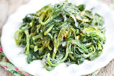 蒸面条菜的做法图片,如何做,蒸面条菜怎么做好吃详细步骤