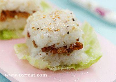米饭砂糖方糕的做法图片,如何做,米饭砂糖方糕怎么做好吃详细步骤