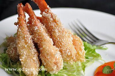 面包香酥虾的做法