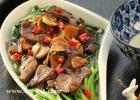 猪肝蚝油菠菜的做法