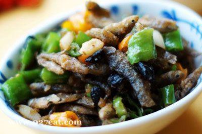 辣炒小干鱼的做法图片,如何做,辣炒小干鱼怎么做好吃详细步骤