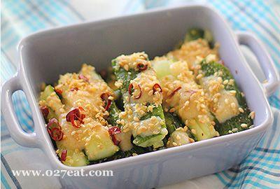 味噌芝麻黄瓜的做法