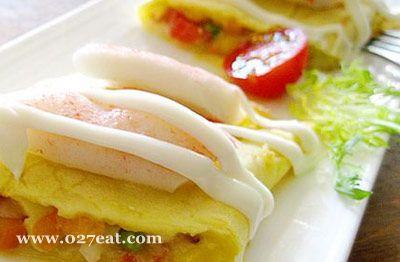 培根芝士玉米蛋卷的做法图片,如何做,培根芝士玉米蛋卷怎么做好吃详细步骤