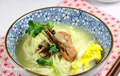 北极虾上汤面的做法图片,如何做,北极虾上汤面怎么做好吃详细步骤