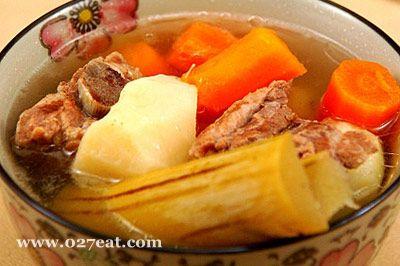 竹蔗红萝卜马蹄汤的做法