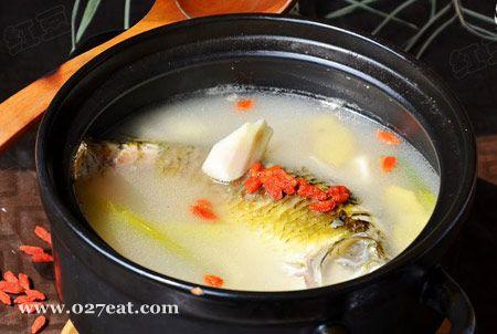 山药枸杞鲫鱼汤的做法图片,如何做,山药枸杞鲫鱼汤怎么做好吃详细步骤
