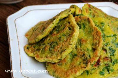 韭菜虾米蛋饼的做法图片,如何做,韭菜虾米蛋饼怎么做好吃详细步骤